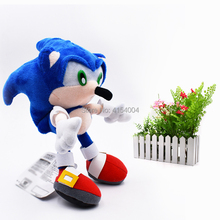 20 pcs/lot Wholesale Toy Sonic Soft Plush Doll Blue Sonic Cartoon Animal Stuffed Plush Toys Figure Dolls Gifts 20 cm 50 pcs lot wholesale peluche toy sonic soft plush doll yellow sonic cartoon animal stuffed plush toys figure dolls gifts 20 cm