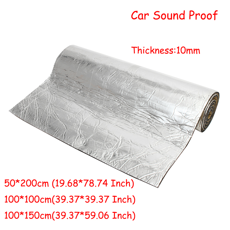10mm Vehicle Insulation Closed Cell Foam Sheet 50*200cm/100*100cm/100*150cm Car Van Sound Proof Deadening Insulation 10mm Vehicle Insulation Closed Cell Foam Sheet 50*200cm/100*100cm/100*150cm Car Van Sound Proof Deadening Insulation