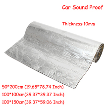 10 мм изоляция транспортного средства закрытые клетки пены лист 50*200 см/100*100 см/100*150 см автомобиль Ван Звукоизоляционная тускнеющая изоляция