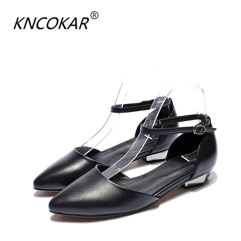 covered sandals In 2017 summer new fashion Hot sales Genuine leather pointed for flat baotou Buckle strap women sandalscovered sandals In 2017 summer new fashion Hot sales Genuine leather pointed for flat baotou Buckle strap women sandals