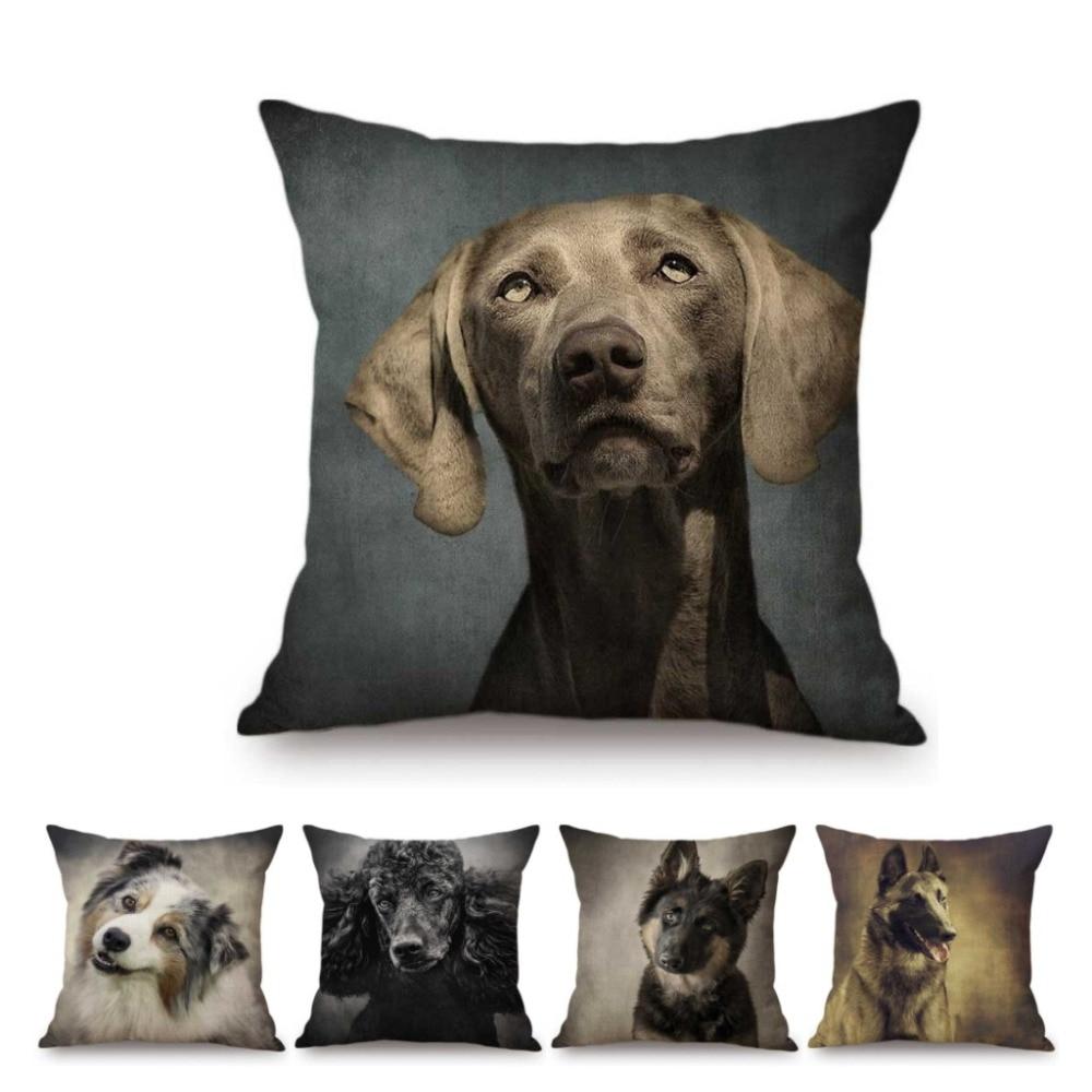 custom dog name pillow german shepherd