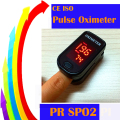 CE ISO NEW Design Fingertip Pulse Oximeter two directions display 4 Colors Blood Oxygen Monitor