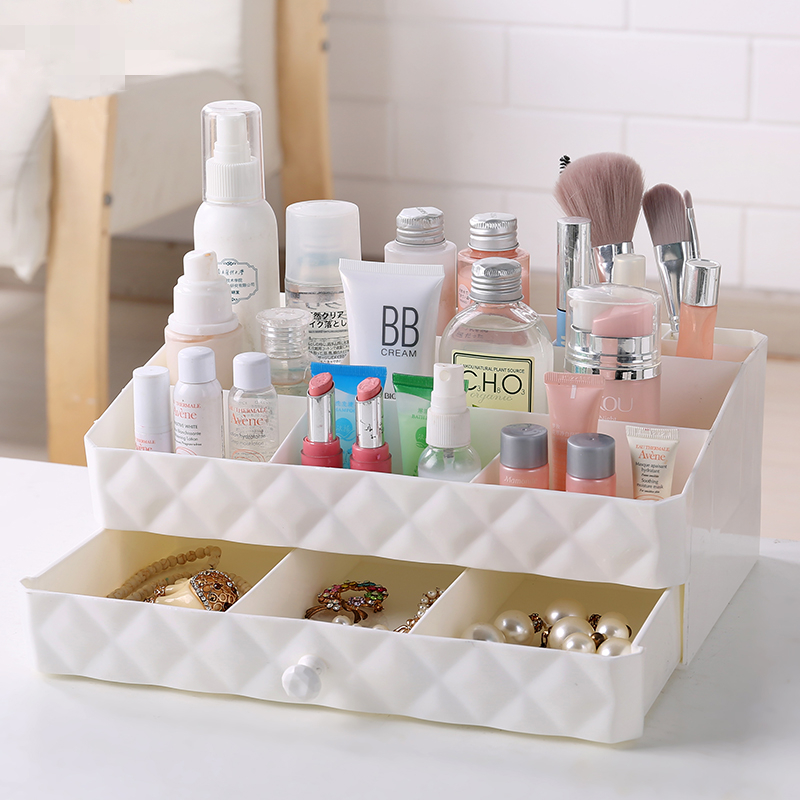 Makeup Organizers Box Drawer Organizers Cosmetic Storage Box Plastic Box Lipstick Holder Nail Oil Storage Container Jewerly Box