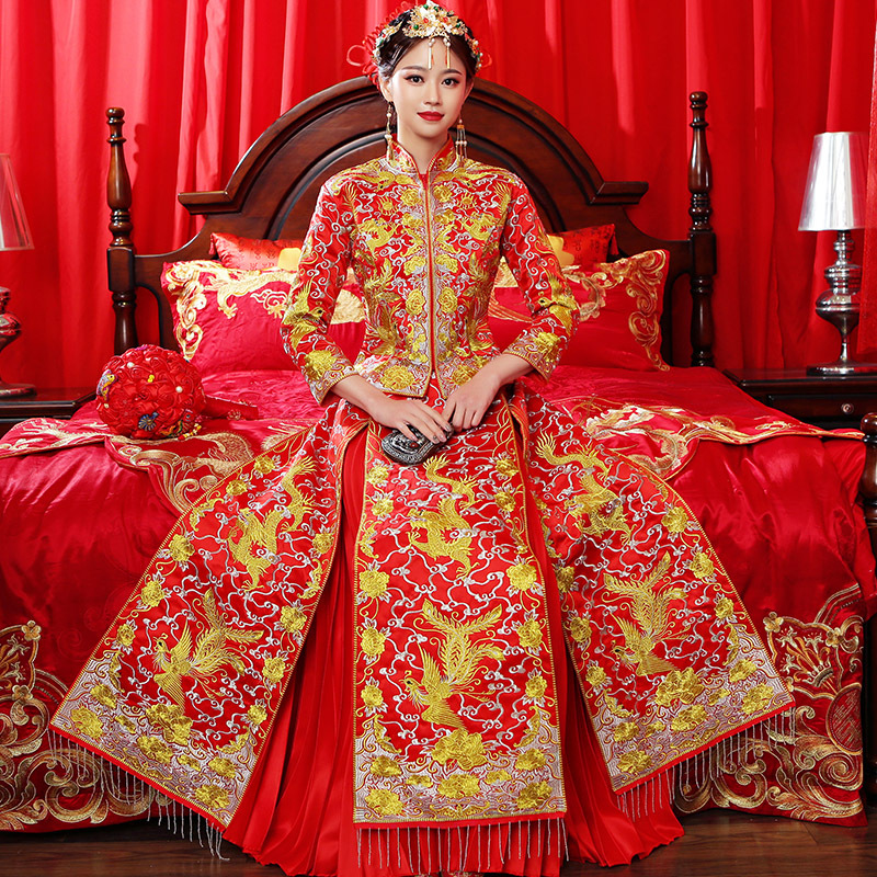 Qipao Wedding Gown: Aliexpress.com : Buy Traditional Chinese Wedding Gown