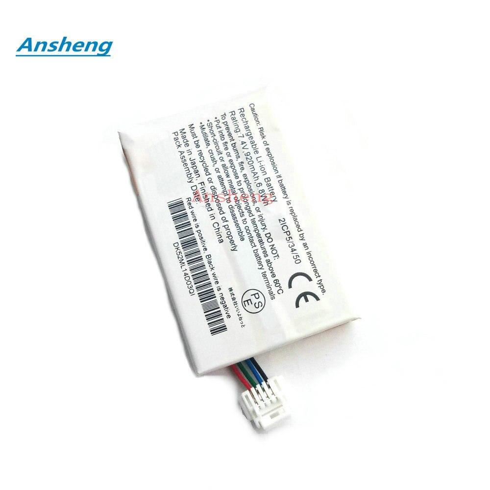 Ansheng High Quality 7.4V 920Mah battery for Garmin Greating Edwin For Garmin BMW navigator V battery