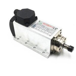 Image 5 - Бесплатная доставка 220В 110В 1.5кВт 24000 об/мин с воздушным охлаждением CNC мотор шпинделя + 1 набор 7 шт ER11 цанги для ЧПУ