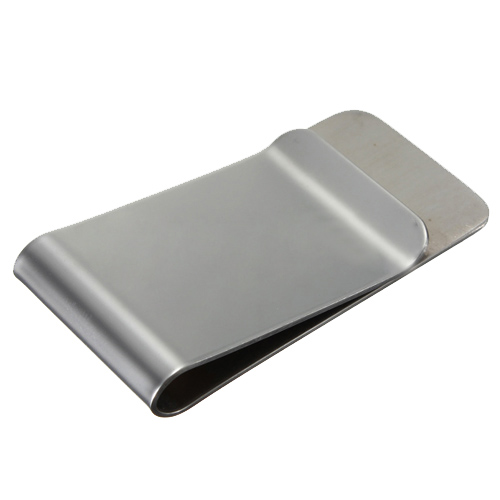 Wholesale 5pcs of 3 pcs Classic short money money clip in stainless steel money clip money