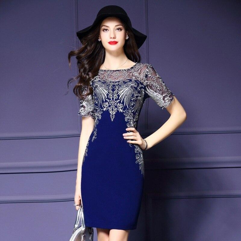vintage dress 2017 new High quality Spring fashion Women's