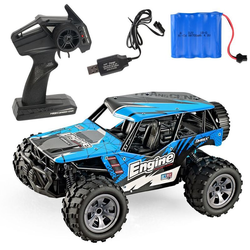 Remote controlled car Remote control furious 1:20 Scale RC Car 4D Off Road Vehicle 2.4G 20km/h Radio Remote Control Car image