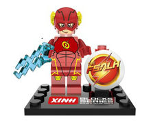 20pcs XH 068 Building Blocks Super Heroes Avengers The FLASH Barry Allen Red Young Justice children Bricks toys(China)