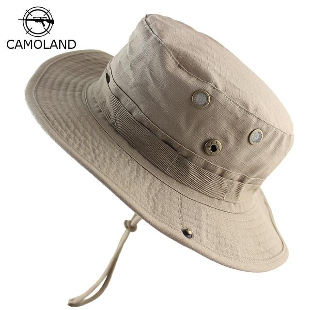 5321f72d984e4 Men Women Summer Bucket Hats Outdoor Fishing Wide Brim Sun Hat UV Protection  Panama Hat Men