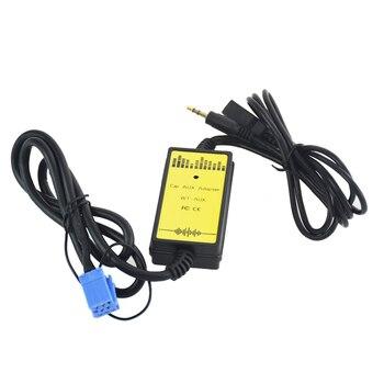 Coche AUX USB Mini SD 8P conectar cambiador de CD para asiento Ahambra Ibiza Arosa para Audi 8Pin A2 A4 S4 CD adaptador MP3 interfaz de Audio