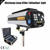 Электронный 350 Вт 17R луч Spot следовать чеканка свет/трекер свет для свадьбы перфорация сопровождающий прожектор с переносной ящик