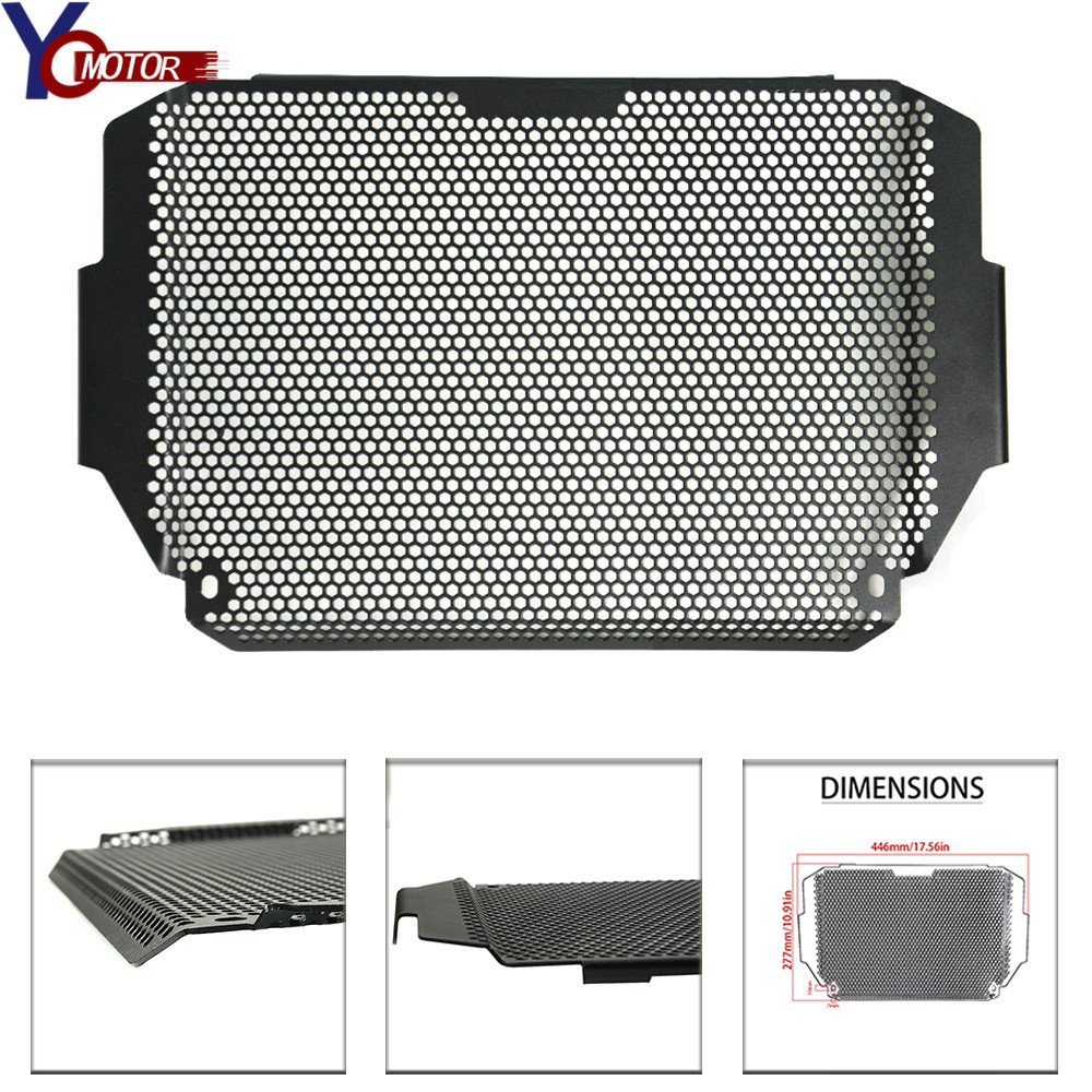 NEW Motorcycle Motorbike Radiator Guard Grille Cover Stainless Steel Cooler Protector For KAWASAKI Z900 2017 2018NEW Motorcycle Motorbike Radiator Guard Grille Cover Stainless Steel Cooler Protector For KAWASAKI Z900 2017 2018
