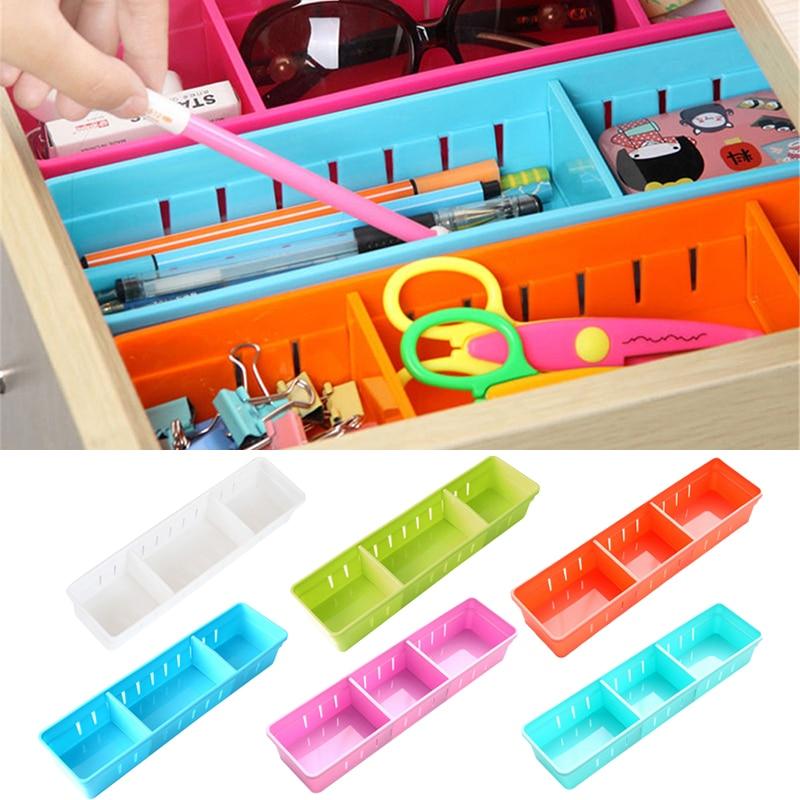 Пластиковый настольный органайзер, ручка для заметок, Канцелярский ящик для хранения, чехол, ящик для стола, разделитель