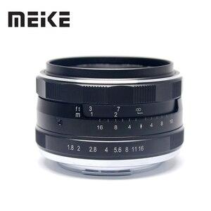 Image 3 - Đế Pin Meike 25 Mm F1.8 Góc Rộng Hướng Dẫn Sử Dụng Ống Kính APS C Cho Fuji X Núi/Dành Cho Sony E Mount/ cho Máy Panasonic Máy Ảnh Olympus A7 A7II A7RII