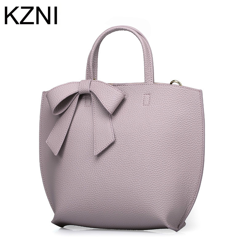 KZNI genuine leather bags for women winter luxury brand new arrival ladies hand bags bolsos mujer de marca famosa 2016 L121004 мужской ремень cinto couro marca