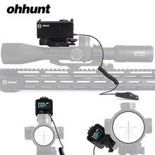Ohhunt 5-700 м мини лазерные дальномеры тактический охотничий прицел с Picatinny Weaver Rail Mount цветной OLED дисплей