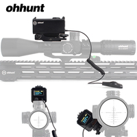 ohhunt 5 700M Mini Laser Rangefinders Tactical Hunting Rifle Scope Sight with Picatinny Weaver Rail Mount Color OLED Display