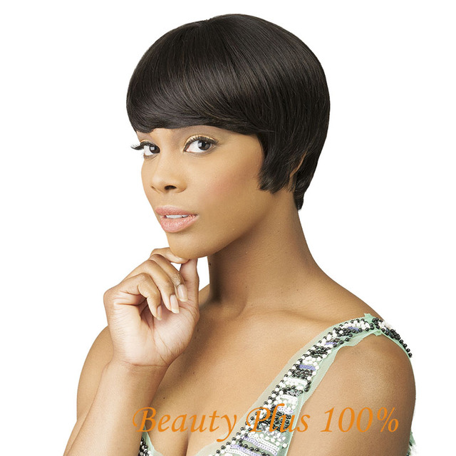 New Natural Style Wigs Women S Girls Fashion Short Wig Straight Hair