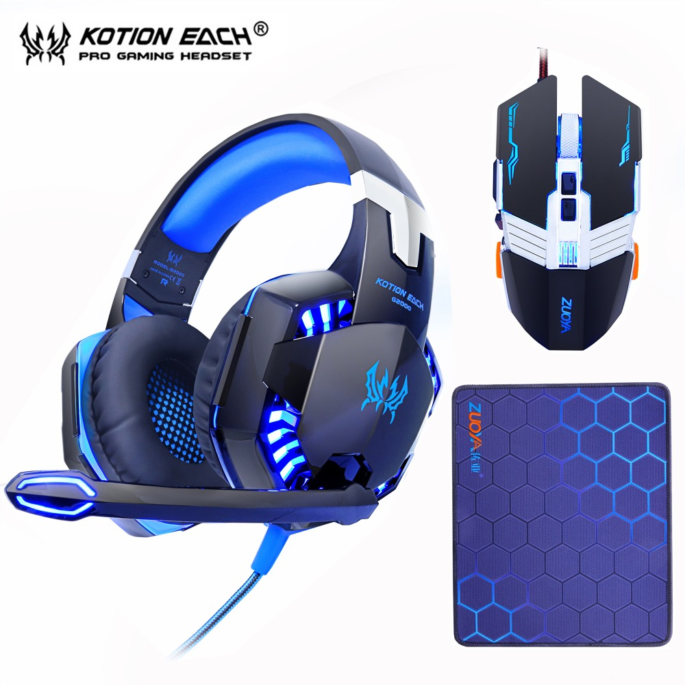 Gaming Headset Headphones with microphone Stereo Earphone+Gaming Mouse Mice 4000 DPI Wired USB Optical for PC+mosue pad giftGaming Headset Headphones with microphone Stereo Earphone+Gaming Mouse Mice 4000 DPI Wired USB Optical for PC+mosue pad gift