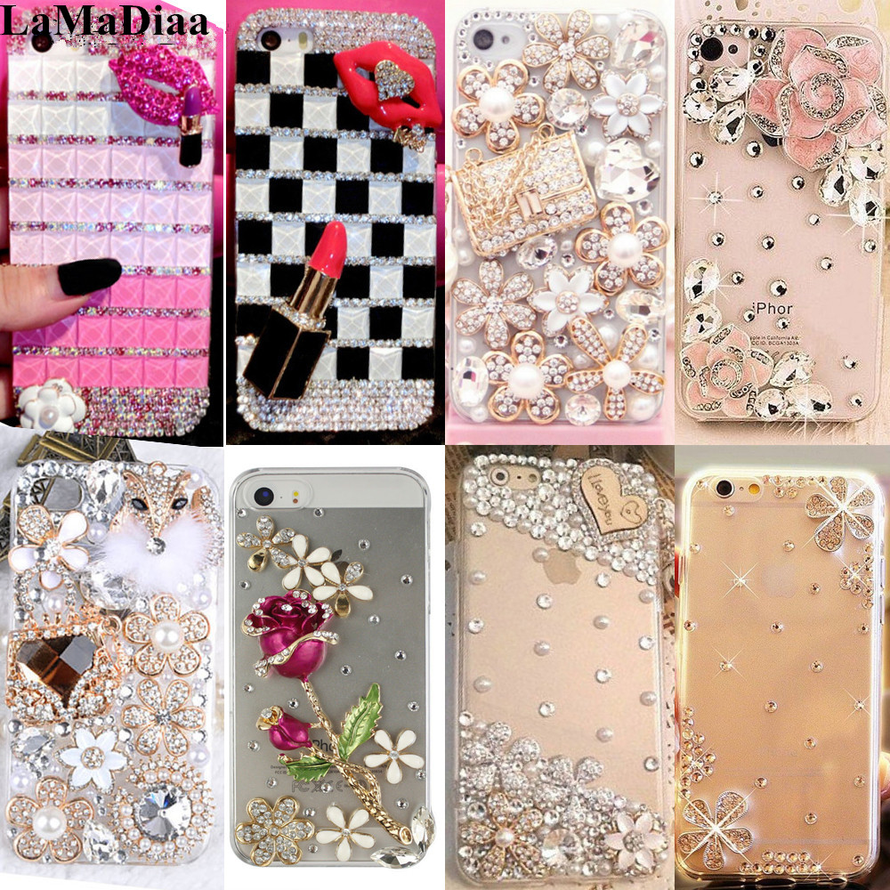 For Huawei Honor 8 9 7X lite V8 V9 V10 Nova 2 P10 P20 Lite Plus Mate 7 8 9 10 Lite Pro Rhinestone Case Bling Diamond cover