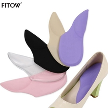 5 Color High Heel Shoe Cushion Pads Multicolor Insole for Massage Foot Care Protector Anti Slip Insert Stickers
