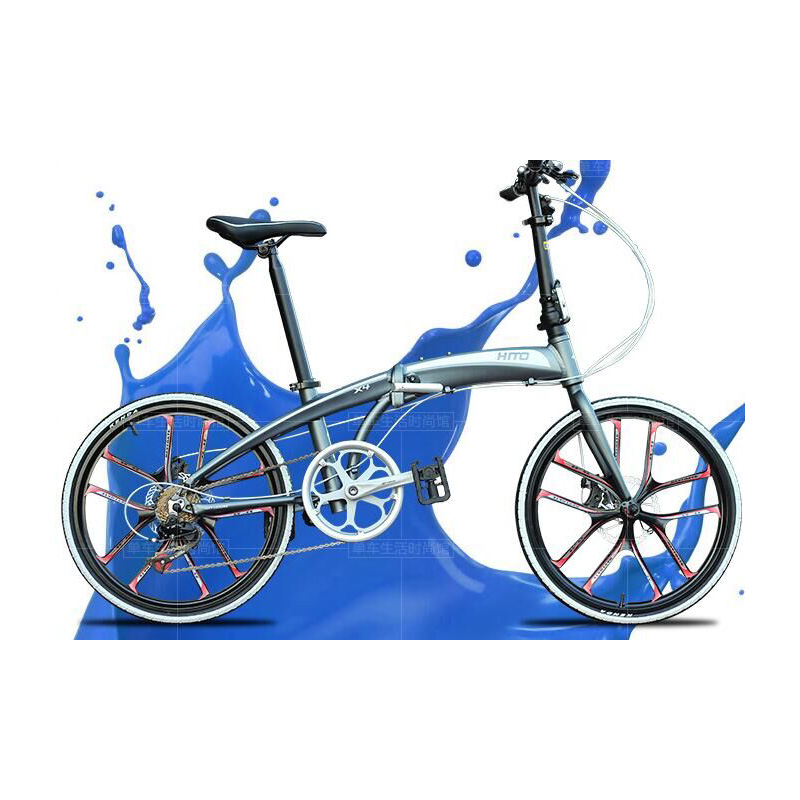 20-inch High-carbon Steel Double Disc Wholesale Bicycle Repair Tools Folding Bike
