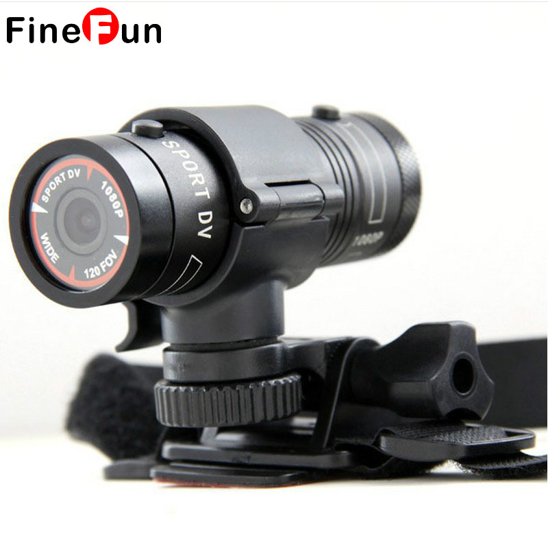 FineFun Mini Camera HD Bike Motorcycle Helmet Sports Action Camera Video DV
