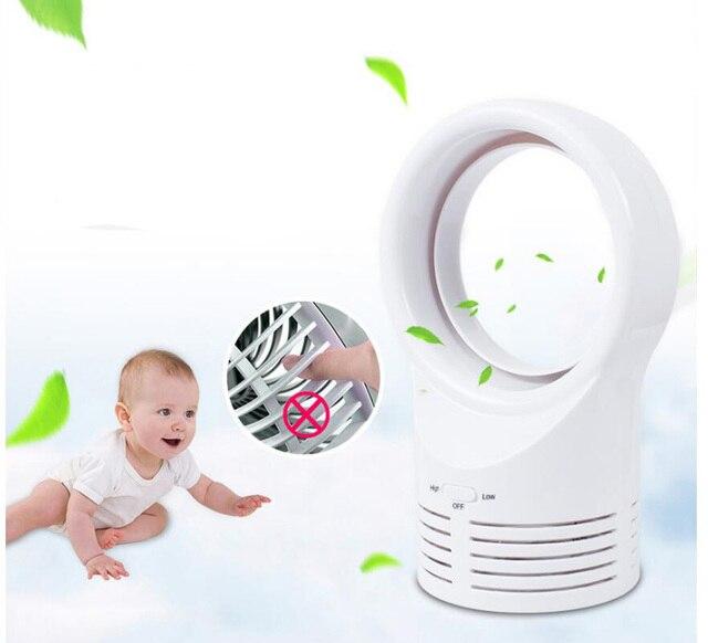 Mini Blattloser Ventilator Für Baby Schlafen Elektrische Lüfter Super Leise  Zwei Geschwindigkeit Mini Air Multiplie Für