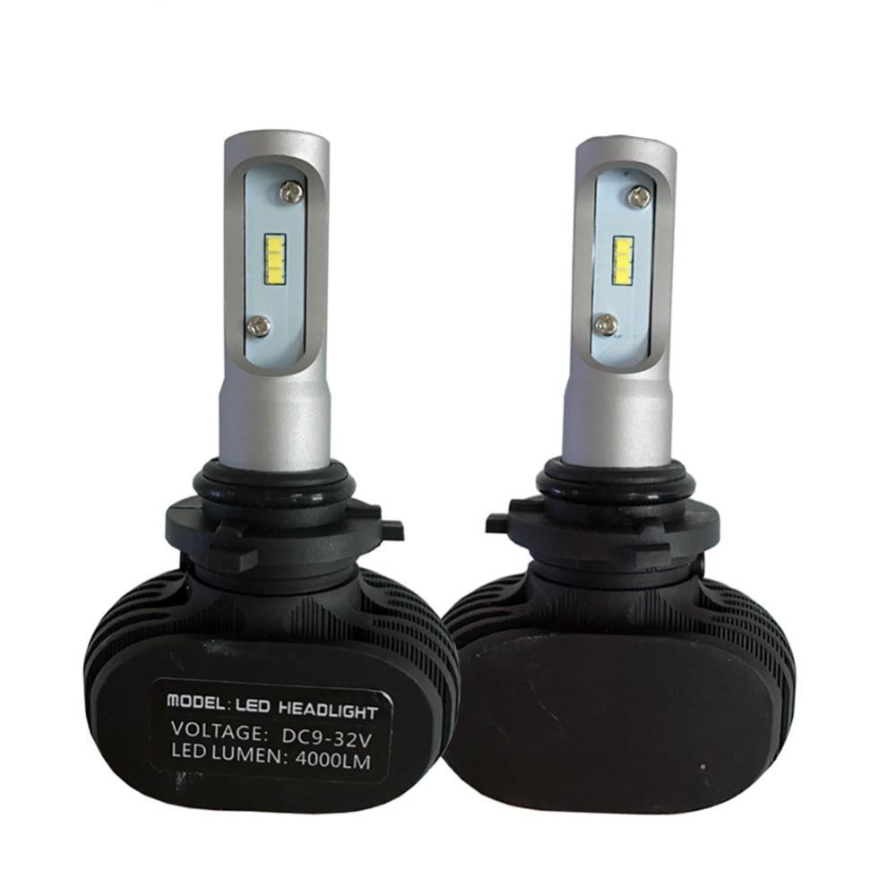 1 զույգ 9006 HB4 LED մեքենա Լուսարձակ - Ավտոմեքենայի լույսեր - Լուսանկար 2