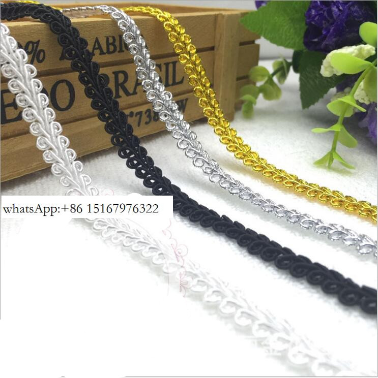 25 Meters/ Lot Special Braided Lace Trim Lace Ribbon