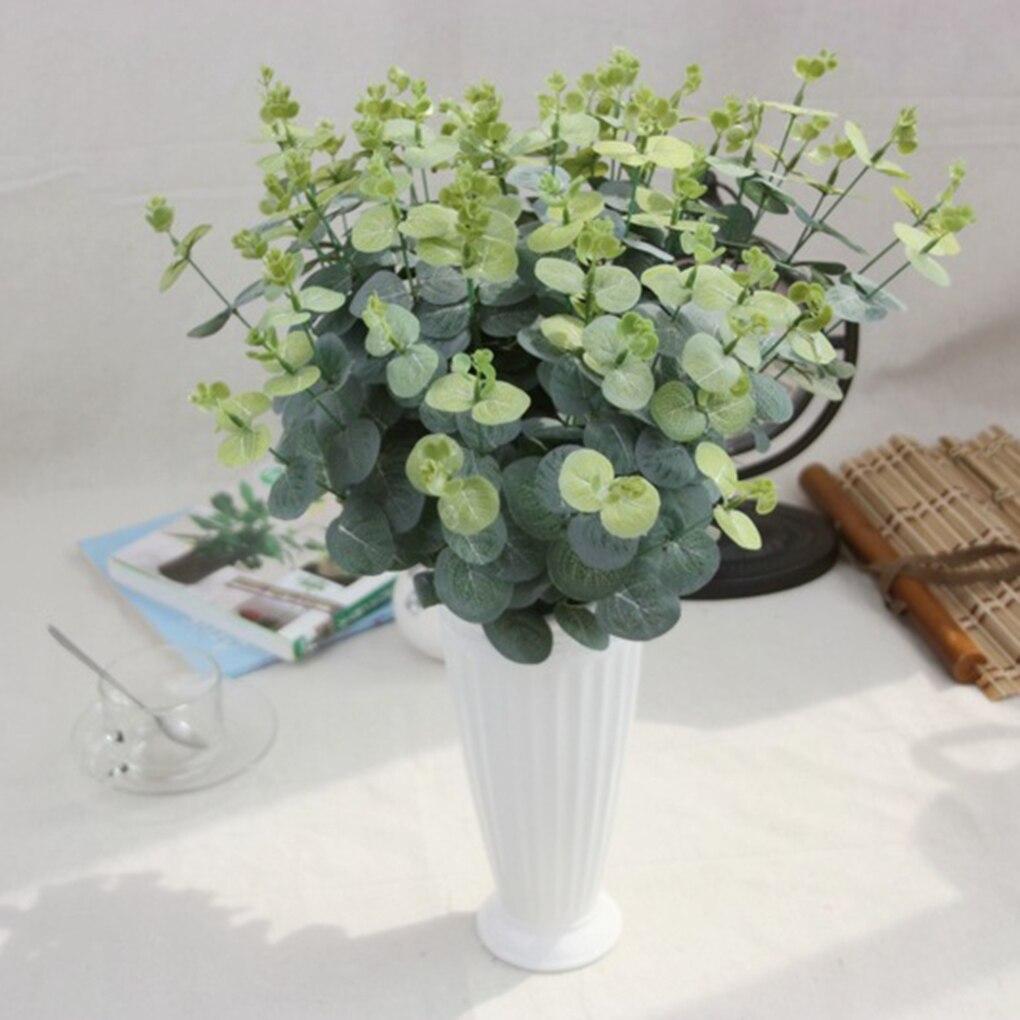 Long Branch Eucalyptus Silk Flower Artificial Plant
