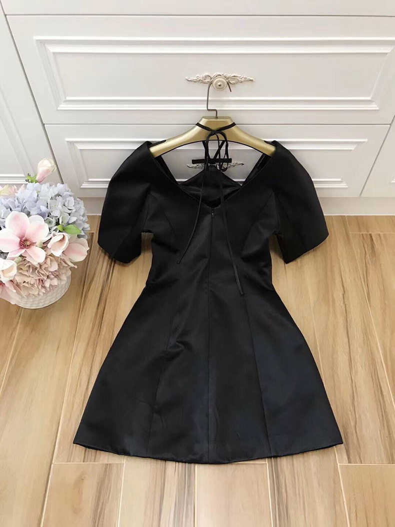 18724eb5716a1dc ... Ziwwshaoyu элегантный платье на бретелях для вечеринки элегантный  дизайн бриллиантами спинки Мини платья 2019 сезон весна ...