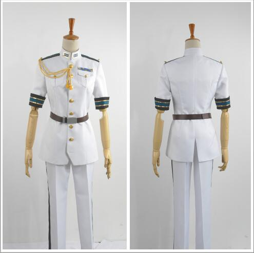 cosplay Costume for men Free! Eternal anime clothes Summer Japanese school uniforms