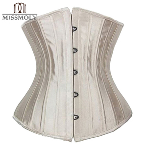 Image 2 - Corset noir pour femmes, ceinture mince, contrôle à la taille, sous le buste, Corset Sexy, grande taille S 6XL
