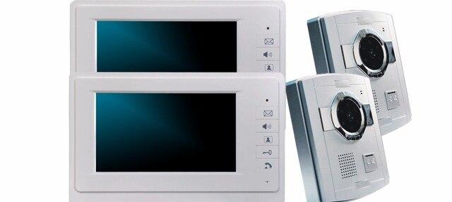 7 Inch Wired Intercom 700TVL Video Door Phone XSL 70F S 2V2-in Video ...