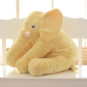 Image 2 - CAMMITEVER almohada de 2 tamaños para bebé, cojín de alimentación de elefante, ropa de cama para habitación de niños, decoración de cama, cuna, asiento de coche, juguetes de peluche para niños