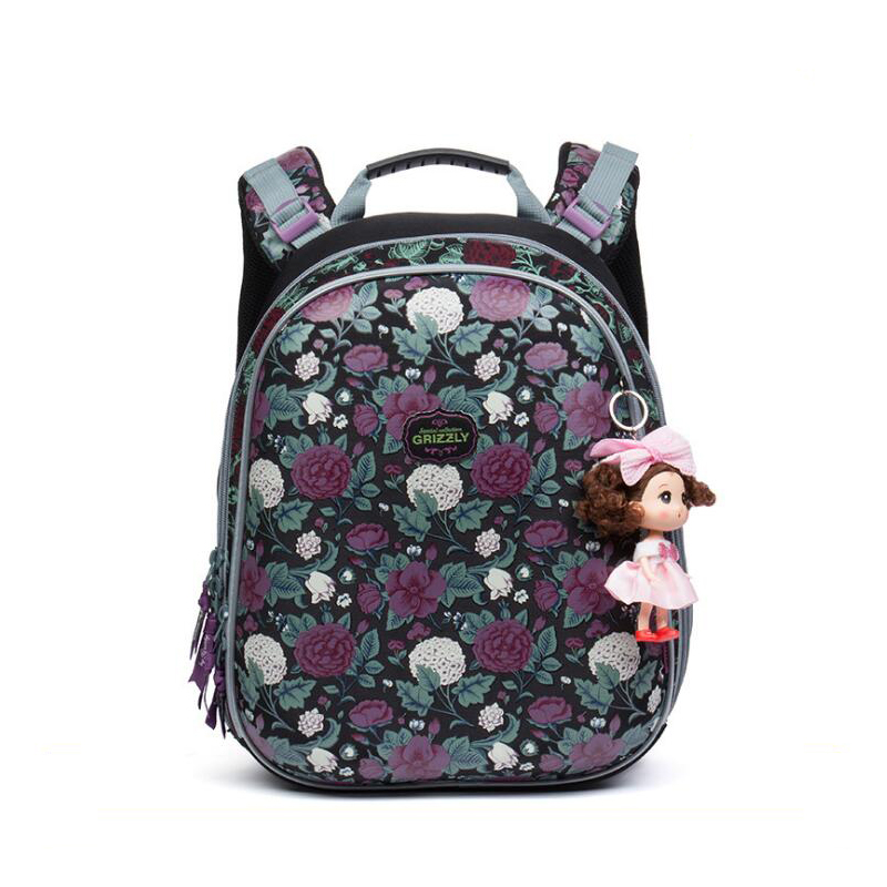 2017 NEW arrived Orthopedic backpack Children School Bags For Girls and boys High quality 3D printing Book Bag Mochila Escolar