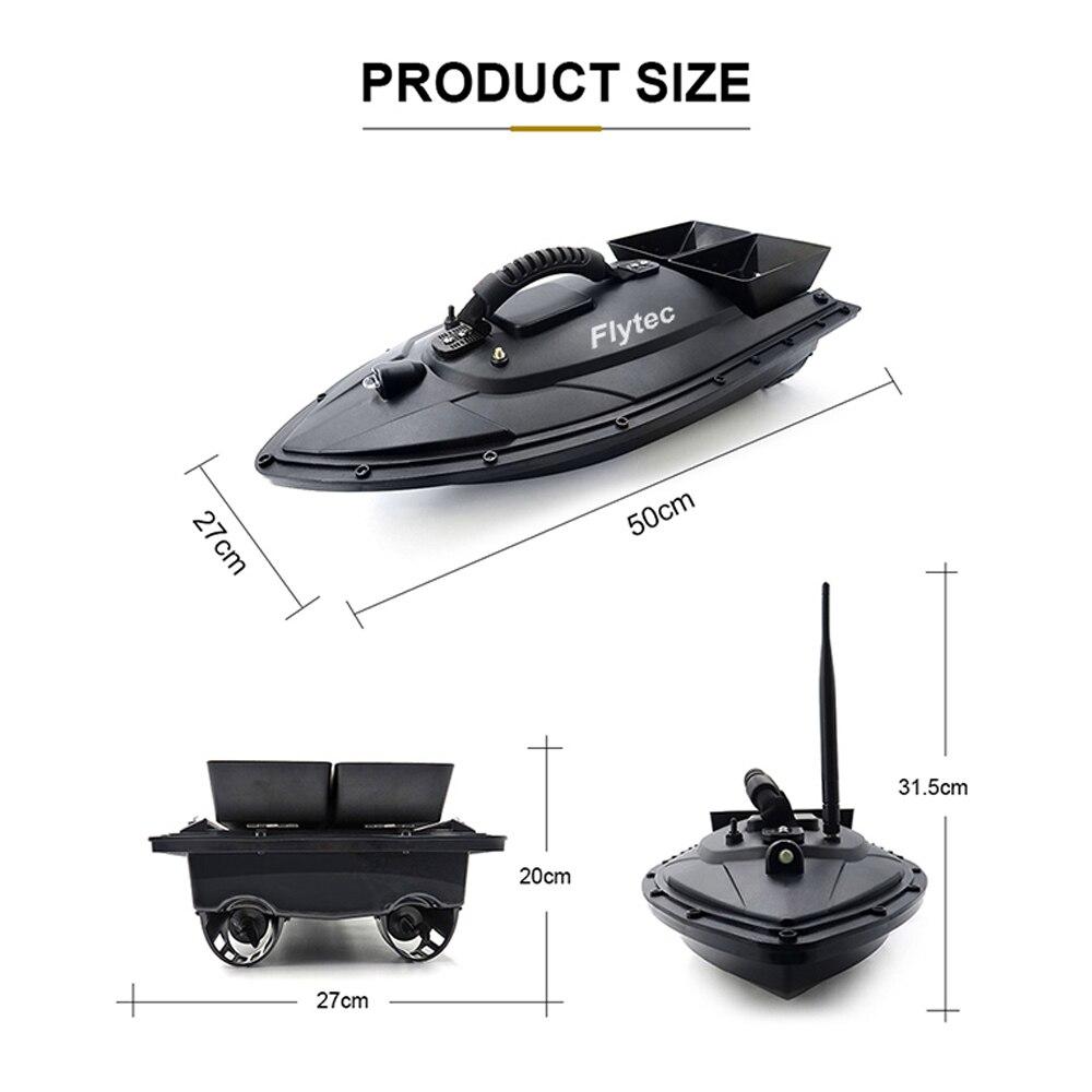 Flytec 2011 5 Vissen Tool Smart RC Aas Boot Speelgoed Dual Motor Fishfinder Schip Boot Afstandsbediening 500m Vissen Boten Speedboot - 3