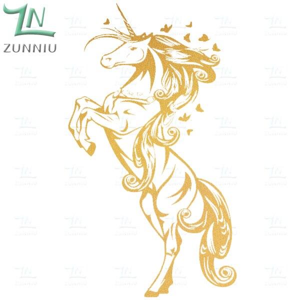 ZN G009 Unicorn Винилді қабырға жапсырмалар - Үйдің декоры - фото 6