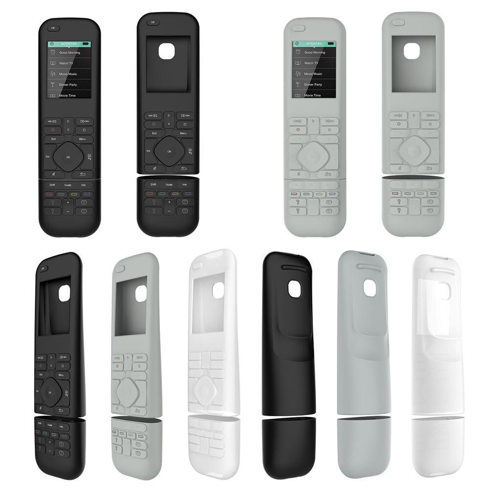 Silicone Protective Case Cover Skin box cover for Logitech Harmony Elite Remote Control Smart home equipment accessories