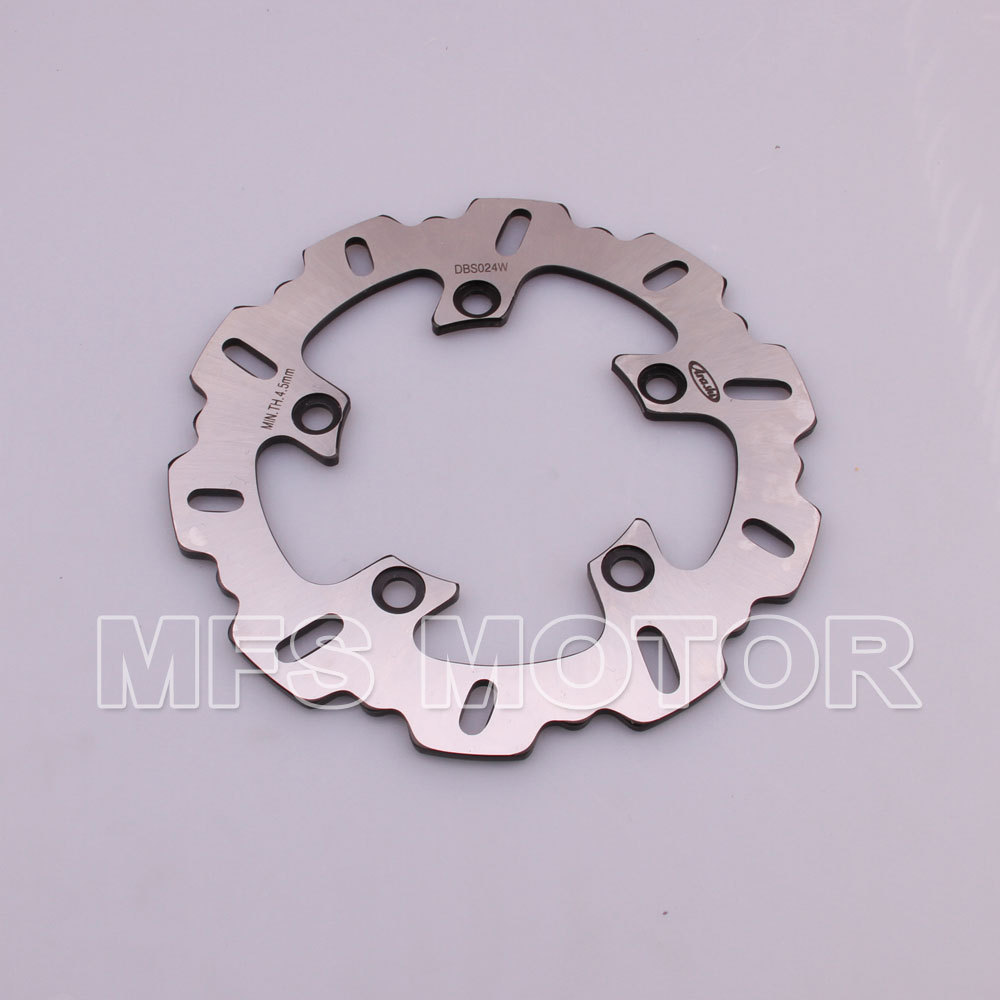 Rear Brake Discs Rotor For Yamaha YZFR1 2003 2004 2005 2006 2007 2008 2009 2010 2011 2012 2013  YZFR6 2003-2012 Black