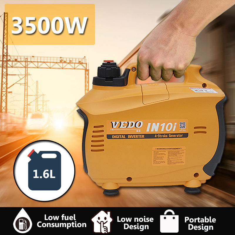 1.6L Portable Digital Inverter Gasoline Generator High Efficiency Outdoor home automatic