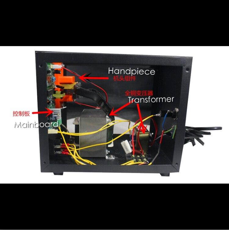 Les transformateurs principaux (deux transformateurs) de la 18650 micro-ordinateur contrôle spot de soudage haute-puissance spot soudeur batterie de soudage