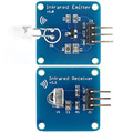 Mini 38KHz IR Infrared Transmitter Module + IR Infrared Receiver Sensor Module For Arduino RPI STM32 Free Shipping