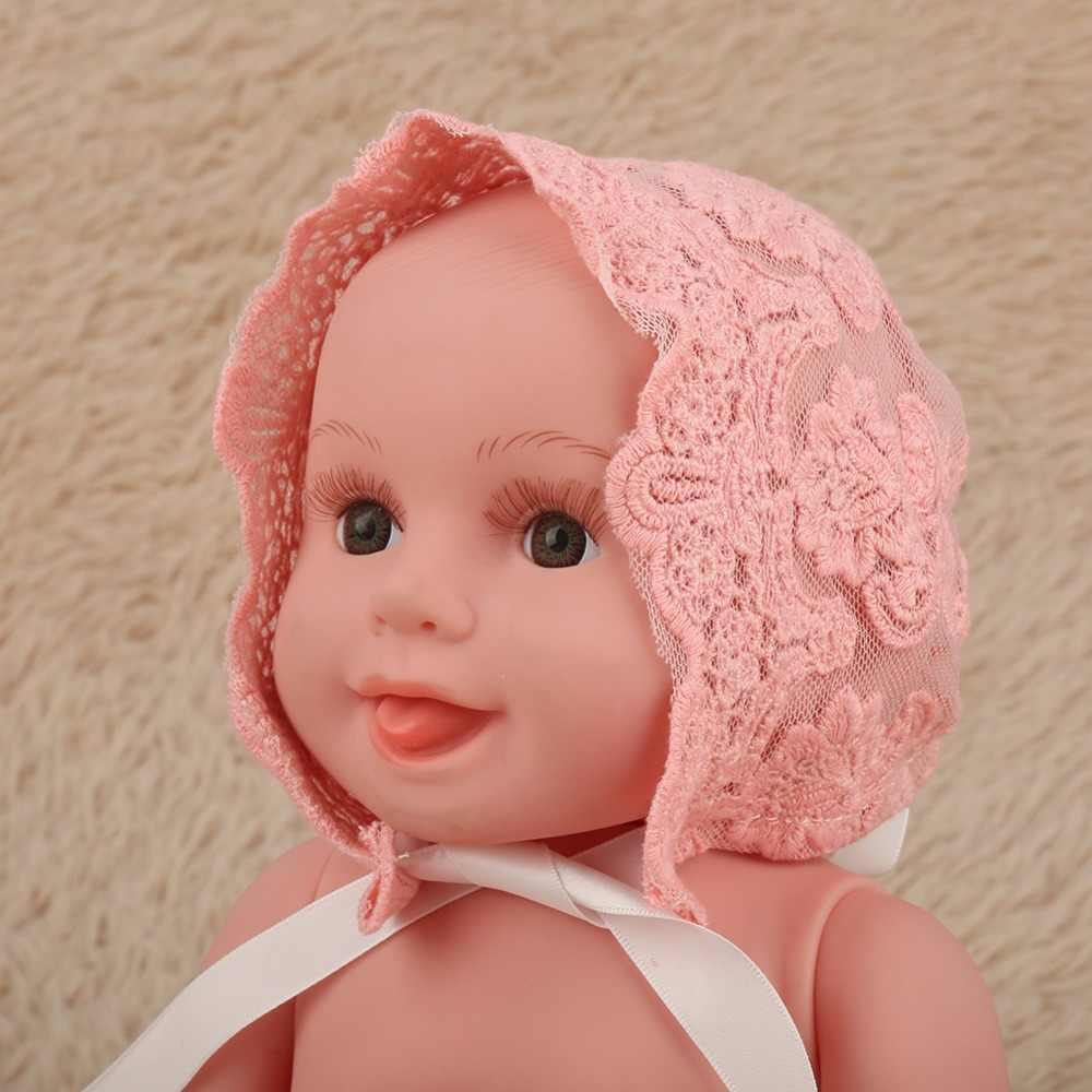 แฟชั่นใหม่ฤดูใบไม้ผลิหมวกเด็กทารกเพศหญิงแรกเกิดลูกไม้หมวกภาพเครื่องแต่งกายการถ่ายภาพP Ropหมวกน่ารักหมวกพรรคเครื่องแต่งกายH Eadwear
