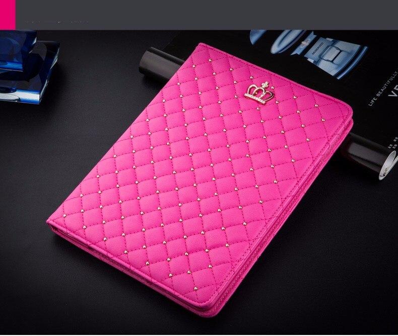Bling Crown Coque for iPad mini 1 mini 2 mini 3 Case Luxury Stand A1432 A1454 A1490 Cover for iPad mini 1 2 3 Luxury Cover (5)