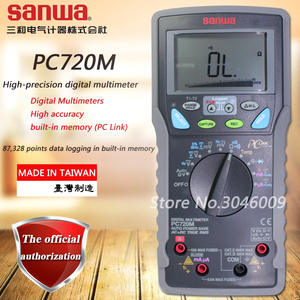 Sanwa Dual Multimeter Temperature-Test True Rms Multimeters/High-accuracy/built-in-memory