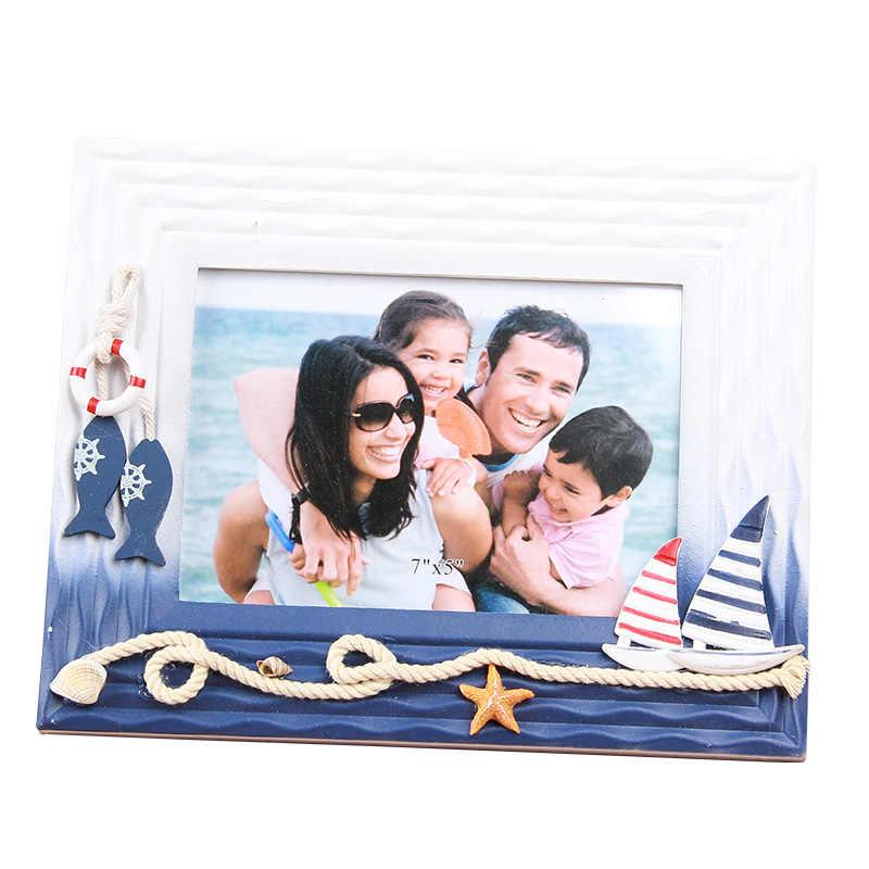Cute Shell Shape Photo Frame For Desktop Decor Irregular W Picture Frame Home Art Craft Frames For Pictures porta retrato